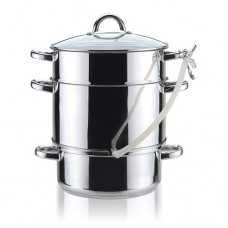 Stainless steel steamer pot 8l