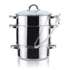 Stainless steel steamer pot 8l